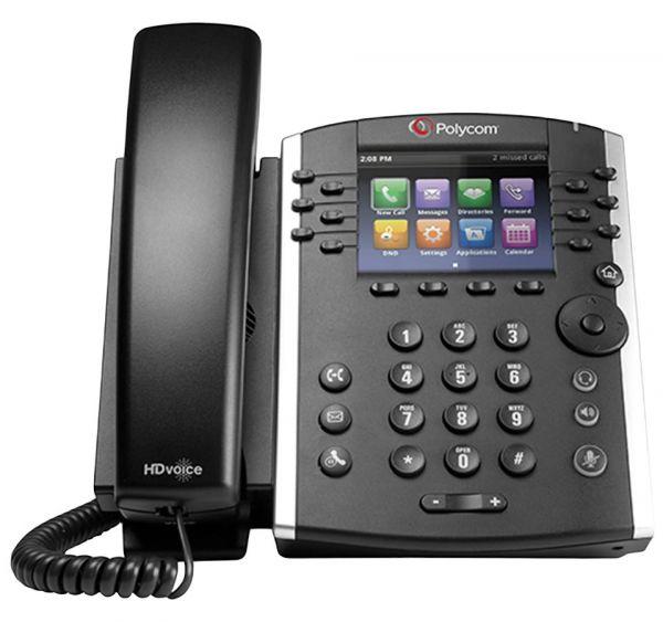 POLY VVX 411P Business Media Phone