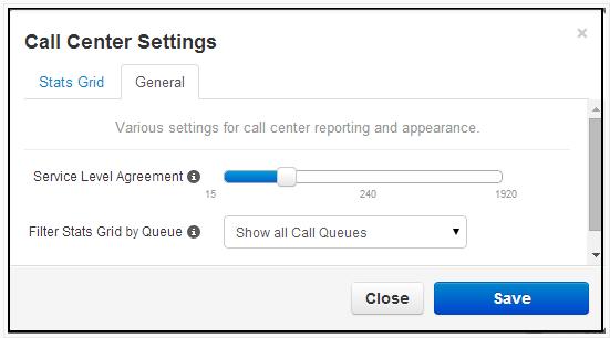 Stats Grid-settings